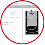 Our Custom Court Builder Software can Lower your Backyard Basketball Court Costs