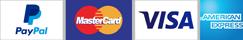 Accepting PayPal Visa MasterCard Amex
